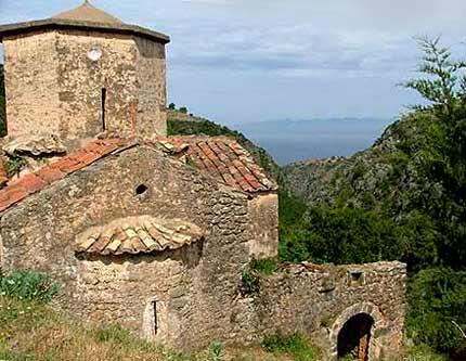 Bisericile din Ano si Kato Doli - Mani