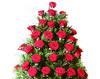 Coroana traditionala din trandafiri