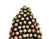 Coroana funerara roz