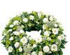 Aranjament funerar alb