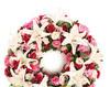 Aranjament funerar roz-alb
