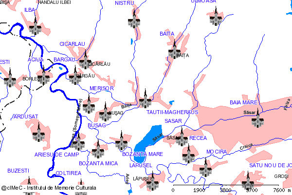Biserica de piatra( adresa: str. Principala 295 )-TAUTII-MAGHERAUS (com. TAUTII-MAGHERAUS)