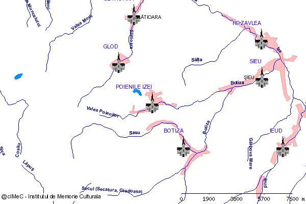 Biserica de lemn Cuvioasa Paraschiva( adresa: 215 )-POIENILE IZEI (com. POIENILE IZEI)