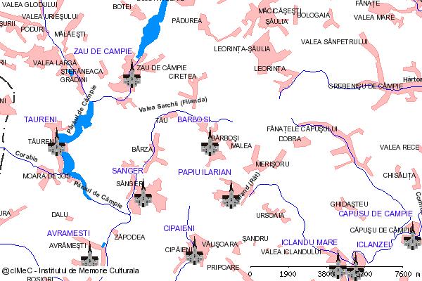 Capela-BARBOSI (com. ZAU DE CAMPIE)
