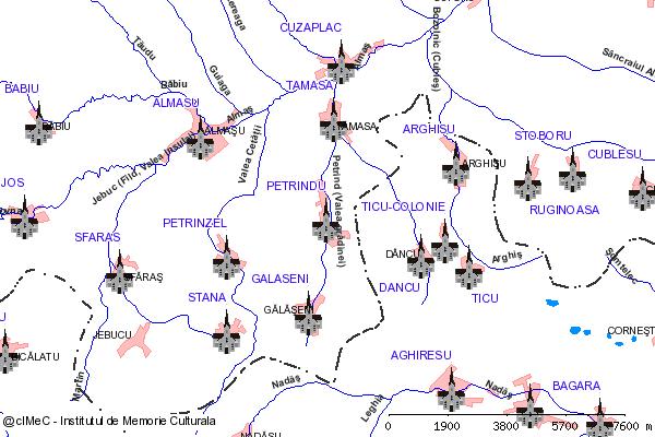 Biserica( adresa: 168 )-PETRINDU (com. CUZAPLAC)