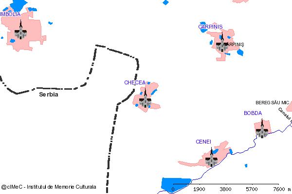 Biserica( adresa: 317 )-CHECEA (com. CENEI)