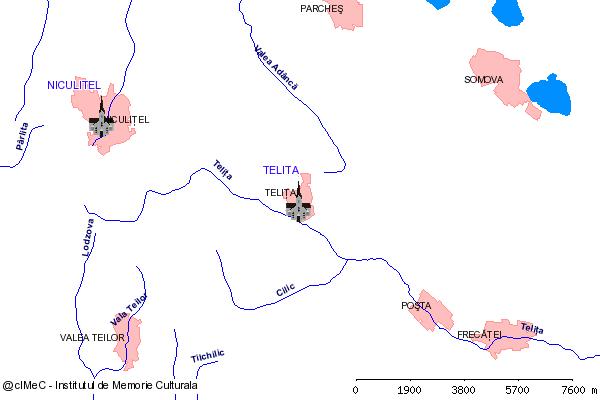 Paraclisul Izvorul Tamaduirii (din Tulcea spre Cataloi, Frecatei, - cca. 35 km)-TELITA (com. FRECATEI)