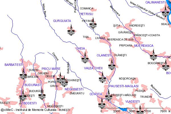 Schitul Pahomie-CHEIA, oras BAILE OLANESTI