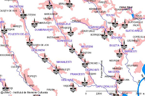 Manastirea Sf. Treime Surpatele (DN 64, Rm.Valcea-Babeni sau DN 67 Pietrari)-SURPATELE (com. FRANCESTI)