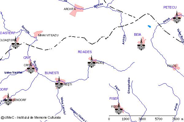 Biserica fortificata( adresa: 3 )-ROADES (com. BUNESTI)