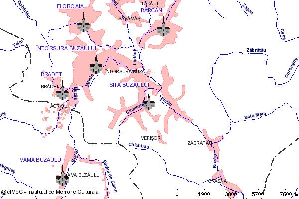 Paraclis-SITA BUZAULUI, oras INTORSURA BUZAULUI