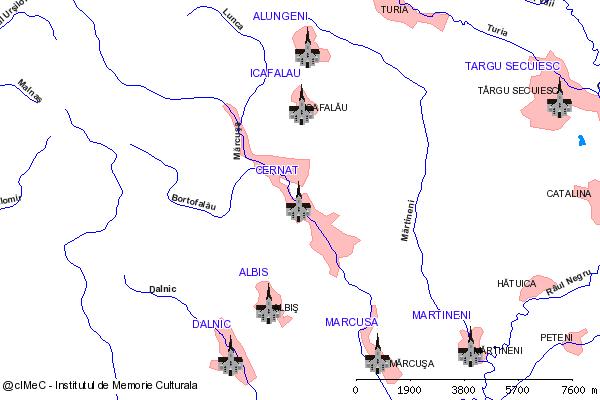 Ruinele Bisericii Romanice-CERNAT (com. CERNAT)