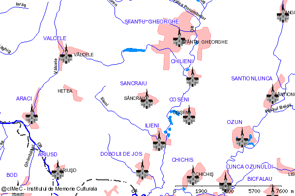 Capela( adresa: 124 )-SANCRAIU (com. ILIENI)