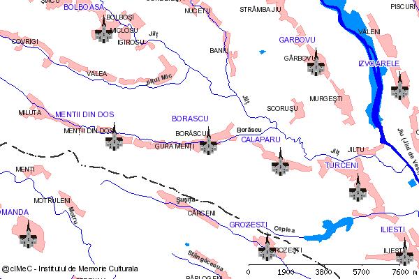 Manastirea Dealul Mare-BORASCU (com. BORASCU)
