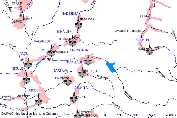 Capela( adresa: str. Ghimes 6 )-FRUMOASA (com. FRUMOASA)
