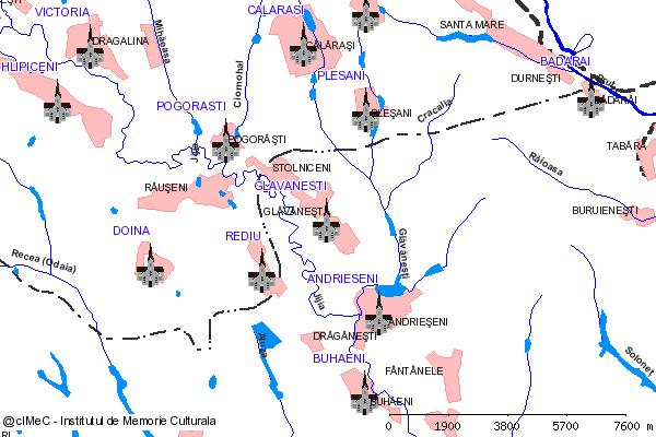 Capela-GLAVANESTI (com. ANDRIESENI)