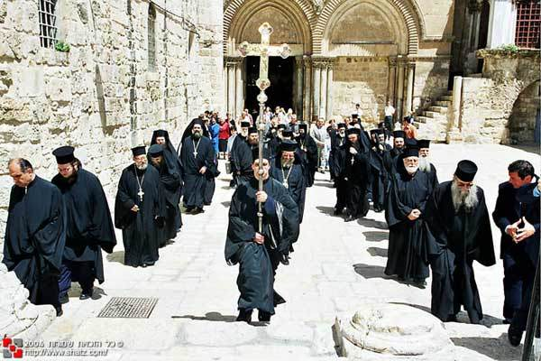 Biserica Invierii din Ierusalim - Sfantul Mormant