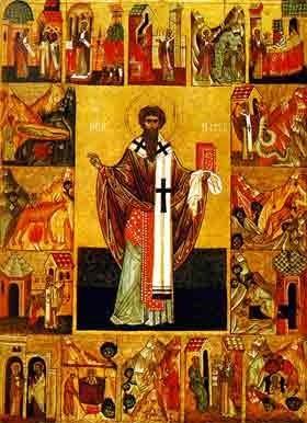 Sfantul Mucenic Ipatie, episcopul Gangrei (Sambata lui Lazar - Pomenirea mortilor)