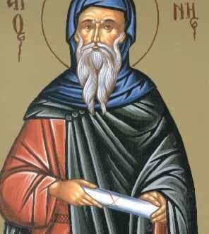 Sfantul Cuvios loan, ucenicul Sfantului Grigorie Decapolitul