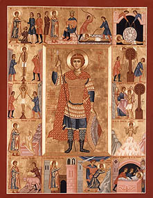 Sfantul Mucenic Gheorghe (Slujba se va savarsi luni, a doua zi de Pasti)