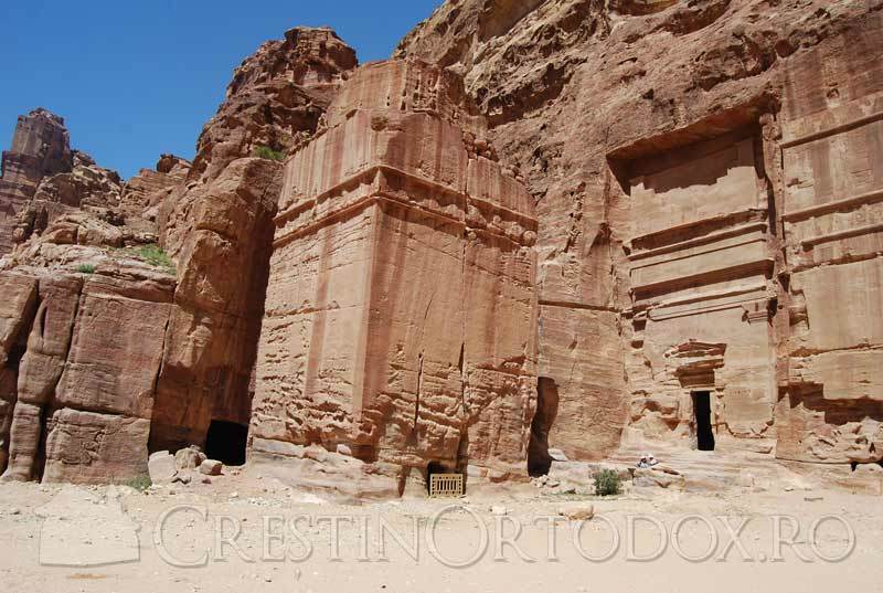 Petra - Orasul de piatra din Iordania