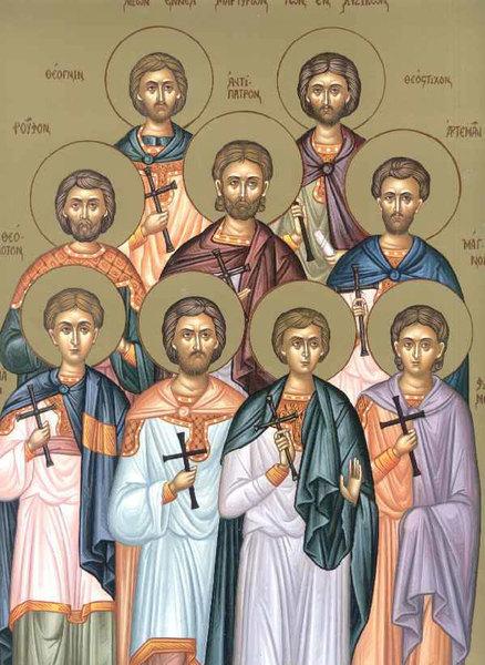 Sfintii Noua Mucenici din Cizic