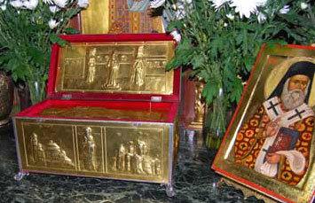 Au fost furate moastele Sfantului Nectarie de la Manastirea Radu Voda