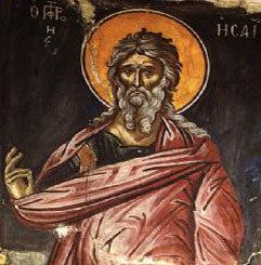 Odovania Injumatatirii Cincizecimii; Sfantul Proroc Isaia