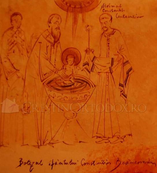 Botezul Sfantului Constantin Brancoveanu