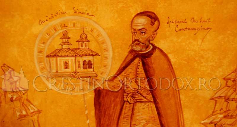 Manastirea Sinaia - Mihail Cantacuzino