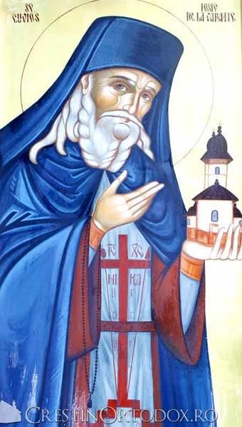 Sfantul Cuvios Iosif de la Varatec