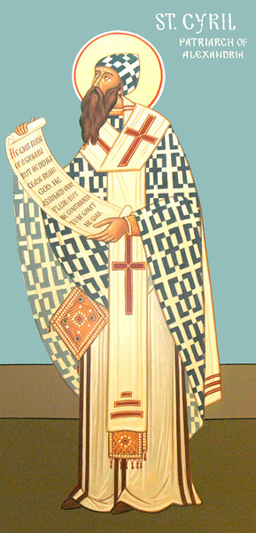 Sfantul Chiril al Alexandriei