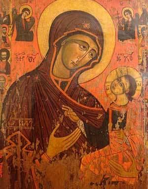 Icoana Maicii Domnului de la Manastirea Dintr-un Lemn
