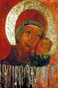 Icoana Maicii Domnului de la Manastirea Ghighiu - Siriaca