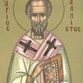 Sfantul Calist, Patriarhul Constantinopolului
