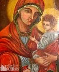 Icoana Maicii Domnului de la Manastirea Dervent