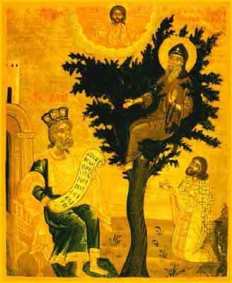 Sfantul Cuvios David din Tesalonic