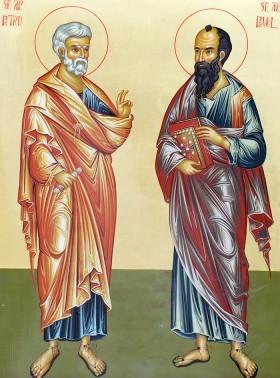 La multi ani de Sfintii Petru si Pavel! - Sfintii Petru si ...  |Sf. Petru Si Pavel