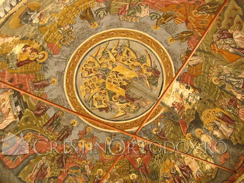 Sfantul Munte Athos - Fresca
