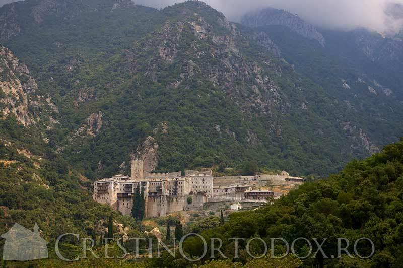 Sfantul Munte Athos - Manastirea Sfantul Pavel