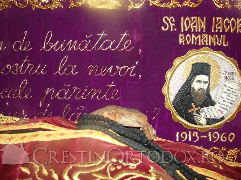 Moastele Sfantului Ioan Iacob Hozevitul - Hozeva