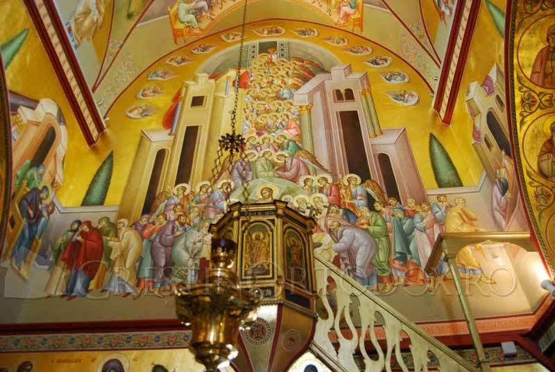 Manastirea Schimbarea la Fata - Fresca