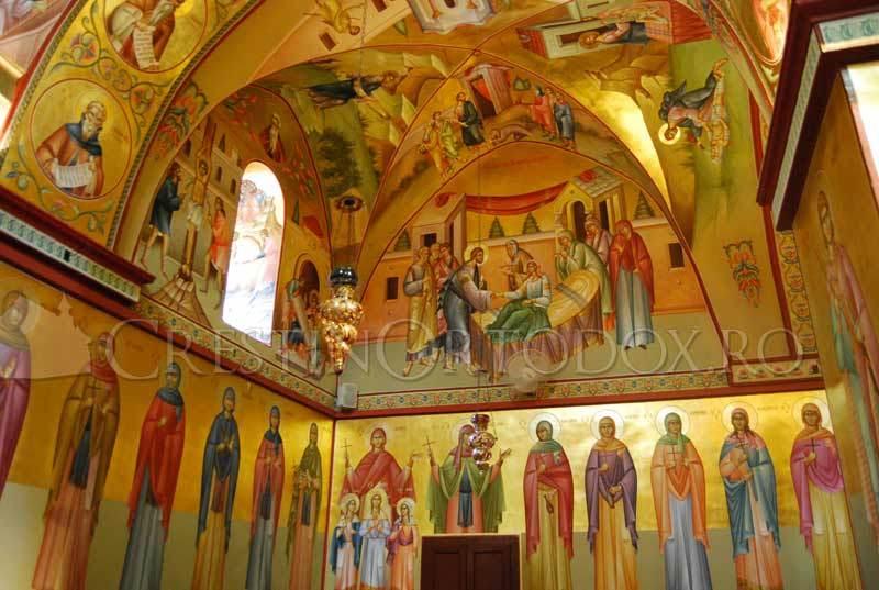Fresce din biserica de pe Muntele Tabor