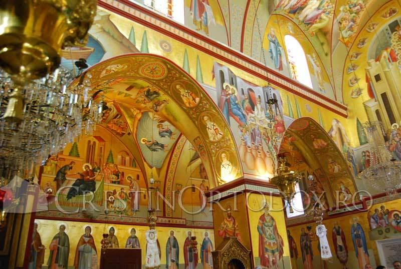 Fresce din manastirea de pe Tabor