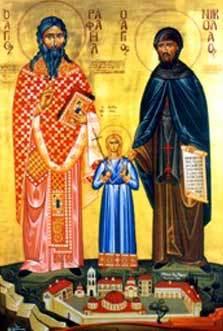Sfintii Rafail, Irina si Nicolae