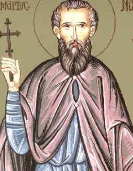 Sfantul Mucenic Miron; Sfantul Gheorghe Pelerinul