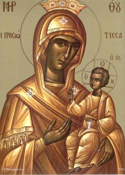 Praznuirea Preasfintei Nascatoarei de Dumnezeu la Pirso