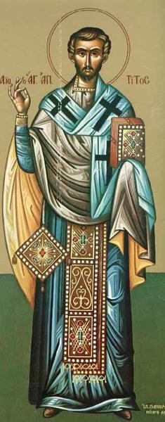 Sfantul Apostol Tit