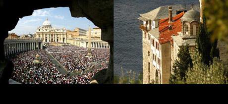 De la Vatican la Athos