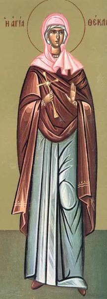 Sfanta Mucenita Tecla